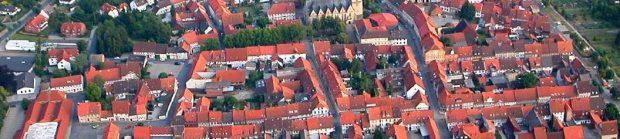 Luftbild Bockenem Altstadt